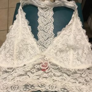Buckle Daytrip White Lace Bralette